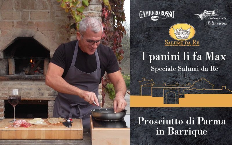 I panini gourmet dello Chef Max Mariola