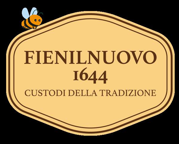 logo fienilnuovo 1644 con ape felice